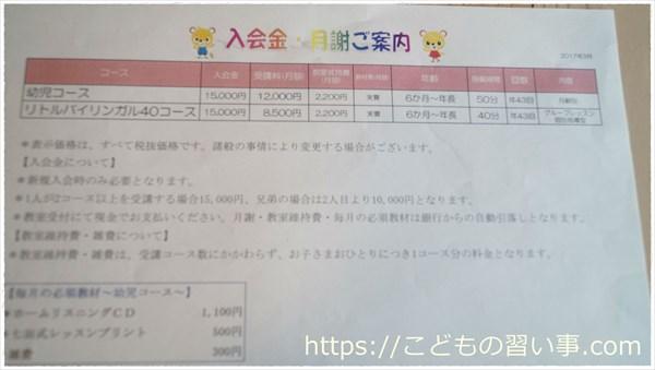 七田式の教材費・受講費その他の費用を具体的にまとめました