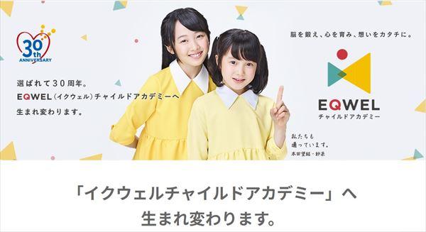 七田式の教室がEQWELに変更